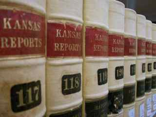 Kansas law books